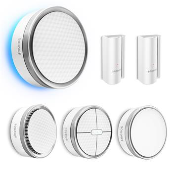 SMANOS K1 Smart Home Security Kit Z-Wave Edition